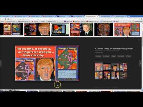 Illuminati Card Game Threatens Donald Trump Assassination Illuminati Freemason Symbolism