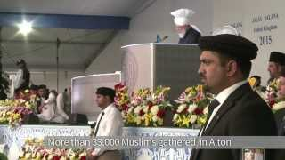 AFP: 33,000 Muslims pledge allegiance to Khalifa of Islam Ahmadiyya
