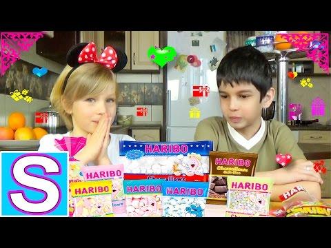 Haribo Challenge! Haribo Челлендж!