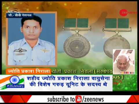 Republic Day: IAF Commando Jyoti Prakash Nirala honoured wit