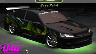 Need for Speed Underground 2 Honda civic customization by RASTAKITTEN