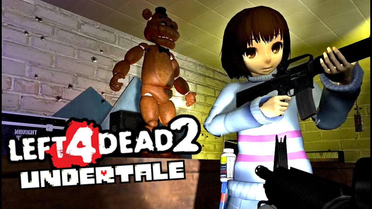 Horror multiplayer retro survival fangame fnaf view all - Can Frisk Survive Five Nights At Freddy S Undertale Fnaf Mod Left 4 Dead 2