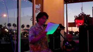 "Alex Matsumoto recites a journal entry about ""a first hand diving e..."
