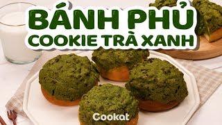 [Cookat Việt Nam] Bánh Phủ Cookie Trà Xanh