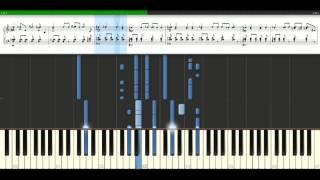 Akon - Right now (Na Na Na) [Piano Tutorial] Synthesia