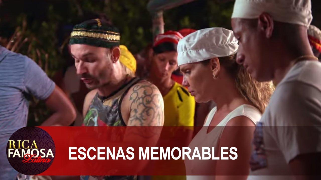 NIURKA Y SU BRUJERIA CUBANA   Rica Famosa Latina   Escenas Memorables