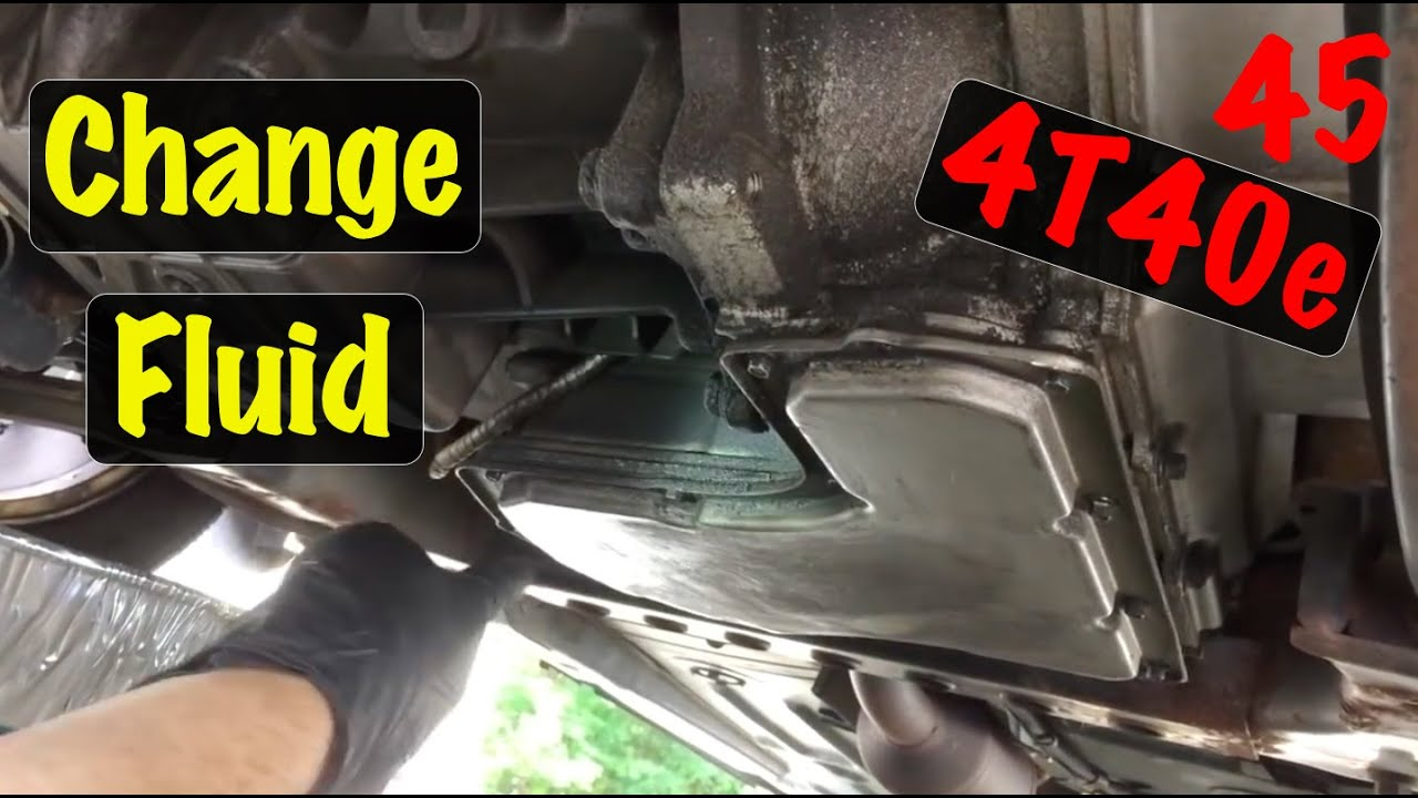 2004 Chevy Cavalier Manual Transmission Fluid
