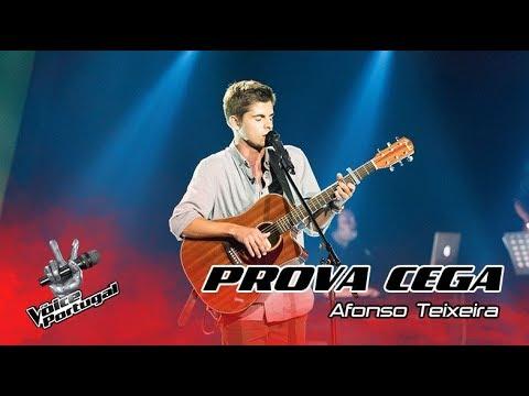 "Afonso Teixeira – ""Shape of You""  Prova Cega  The Voice Portugal"