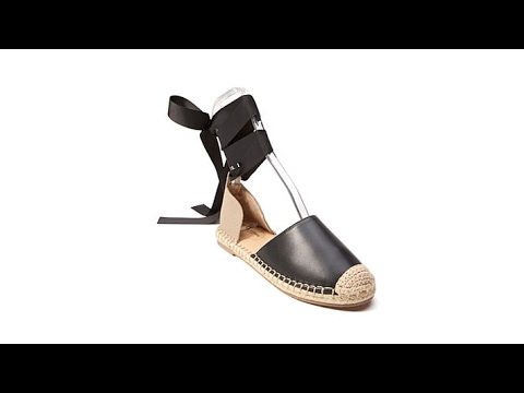 89cd2e5c06a5 Wendy Williams Lace Up Espadrille - YouTube