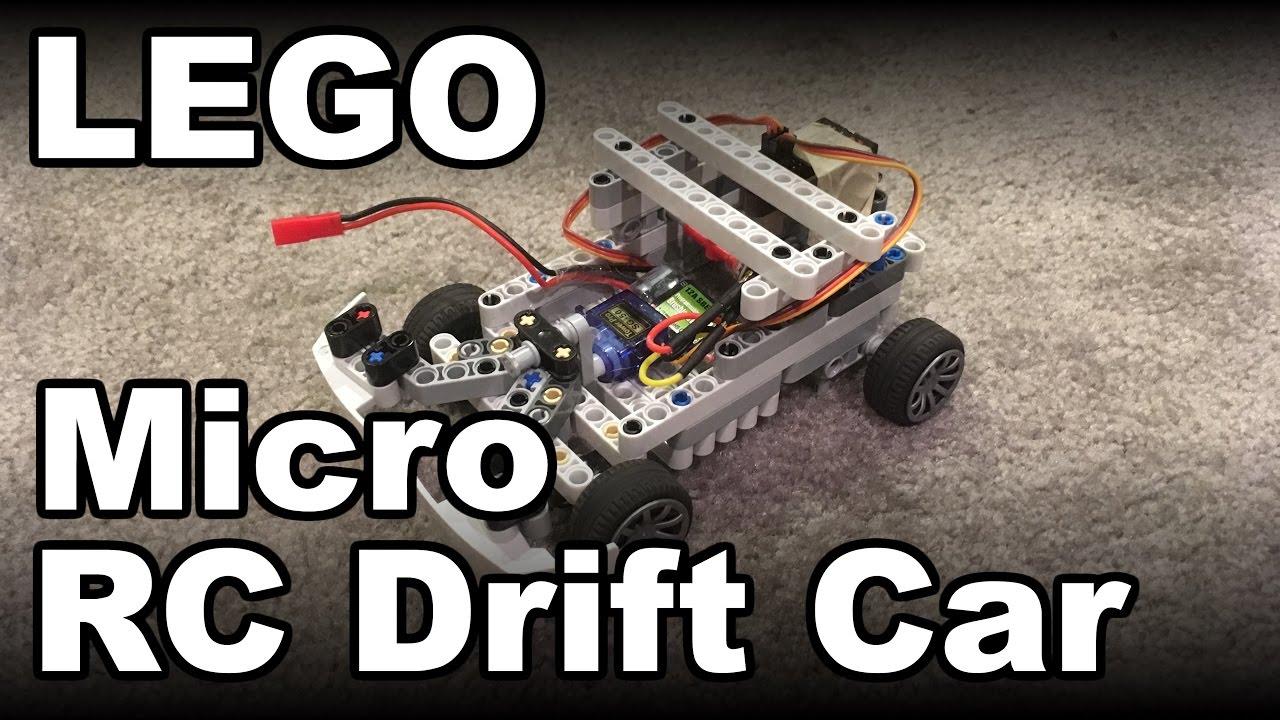 Diy Mini Lego Rc Drift Car Youtube