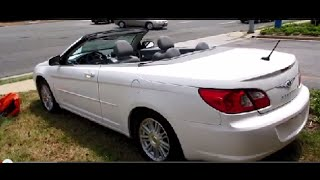2009 Chrysler Sebring Sedan Videos