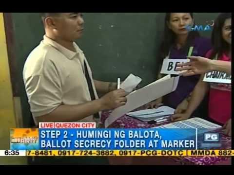 Step-by-step process ng pagboto sa voting precinct, itinuro sa 'Unang Hirit'