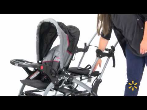 Baby Trend - Sit N Stand Double Stroller... - YouTube