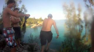 Bermuda Cliff Jumping October