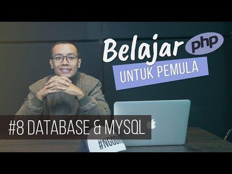 Belajar PHP Untuk PEMULA | 10. DATABASE & MySQL