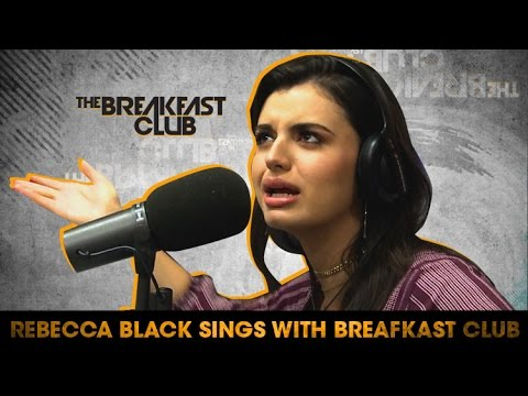 "Rebecca Black Sings ""Friday"" With The Breakfast Club"