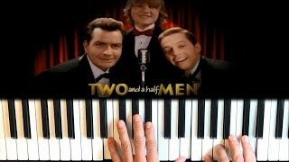 Two and a half Men Easy Piano Cover