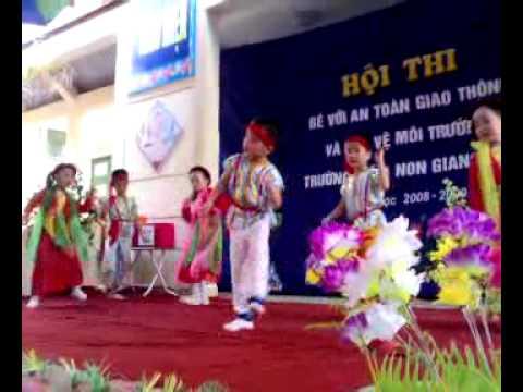 """Cuoc thi """"Be voi an toan giao thong""""_ Truong MN Giang Bien.mp4"""