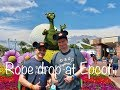Rope Drop at Epcot: Mad Dash to Frozen [ep2]