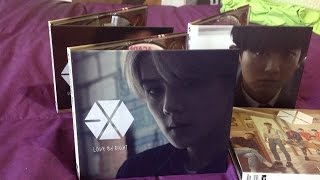 "Unboxing EXO ""Love Me Right"" Japanese Sehun Ver."