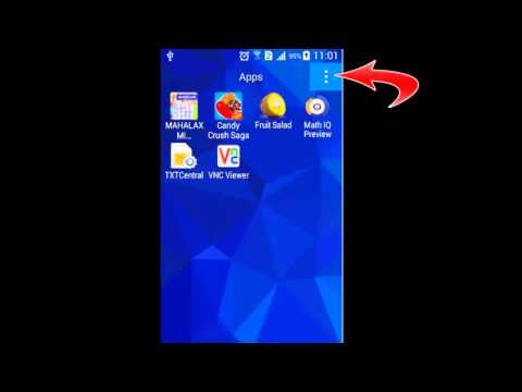 How to get back hidden apps in Android phone