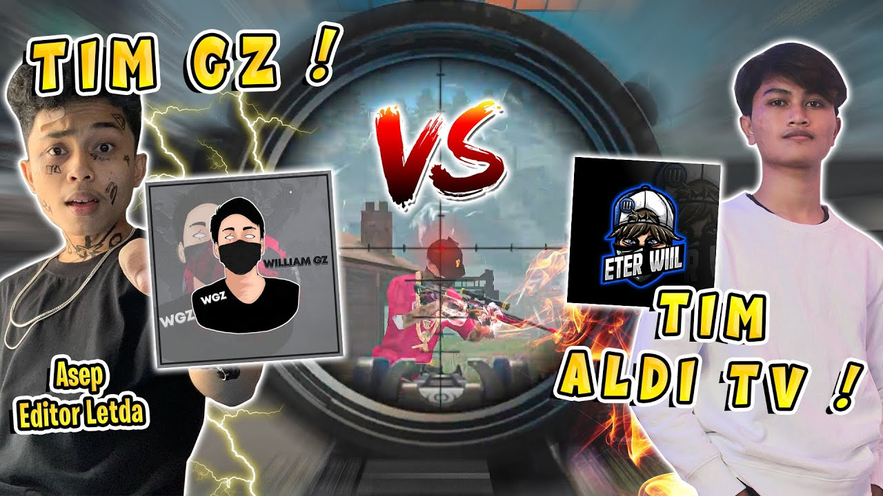 TIM WILLIAM GZ VS TIM ALDI TV ! BY ONE AWM AUTO KASIH PAHAM !