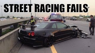 Worst Street Racing Fails Caught On Camera!