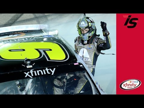 William Byron wins long, action-packed NASCAR XFINITY race at Daytona