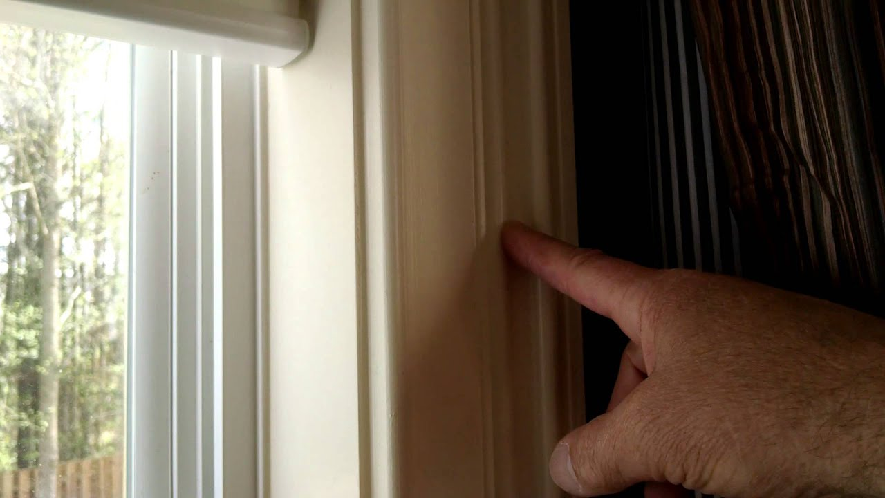 Hanging Blinds Out Side Of A Window Frame - In My Opinion - YouTube