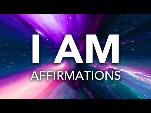 """Affirmations for Health, Wealth, Happiness, Abundance """"I AM"""" with Sleep Music, 30 Day Prog"""