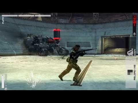 Metal Gear Solid Peace Walker - Pupa Battle