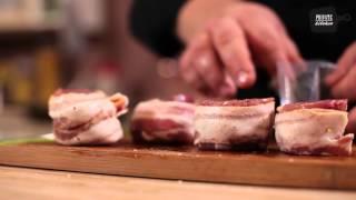 Медальоны из свинины с трюфельным соусом