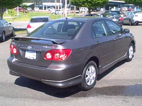 2005 Toyota Corolla S Ron Tonkin Pre Owned Youtube