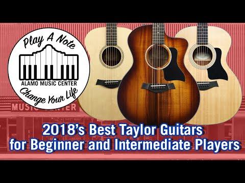2018's Best Beginner and Intermediate Taylor Guitars - Acoustic Guitar Buyer's Guide