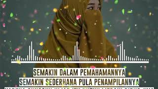 Gambar cover Literasi Islami 30 Detik Whatsapp Story - Wanita Bercadar - Literasi Sholawat