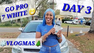 GOPRO HERO 7 WHITE UNBOXING😆😁😊 THE BEST CAMERA EVER!!! VLOGMAS DAY 3 😊