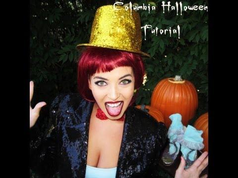 Columbia ( Rocky Horror) Halloween Tutorial