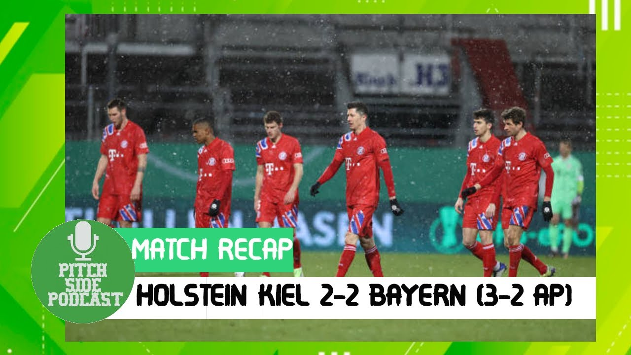 holstein kiel 2 2 bayern munchen 7 6 on penalties no treble for bayern this season