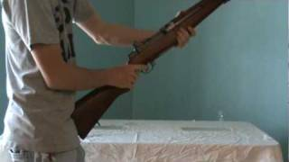 22-1105 -M1 Garand Rifle Replica.mpg