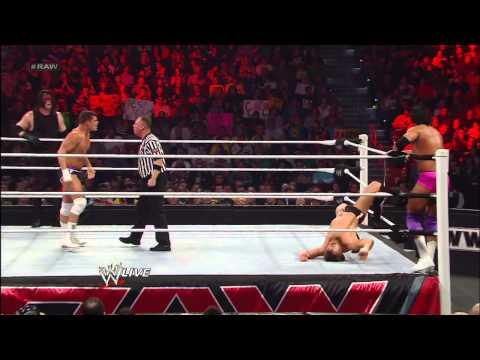 Team Hell No vs. Team Rhodes Scholars: Raw, Jan. 7, 2013