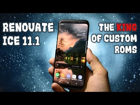 Renovate ICE 11 1 | The BEST Custom Rom for Galaxy S8/S8+ - YouTube
