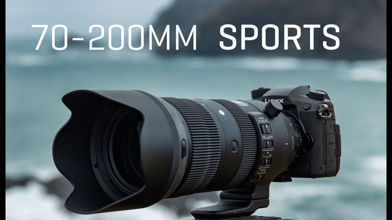Sigma 70-200 F2.8 EF Sports • Unboxing / First Use / Mini ...