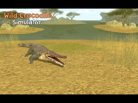 #Wild #Crocodile Simulator 3D - ByTurbo Rocket Games Simulation - iTunes/Google Play