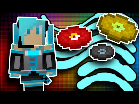 HATSUNE MIKU IN MINECRAFT?! Vocaloid Mod Showcase