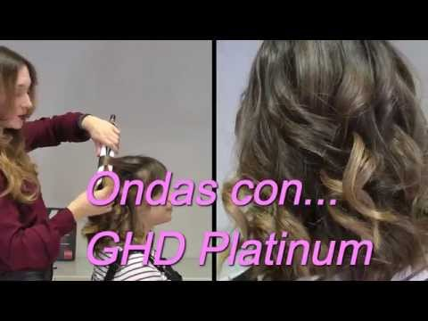 glam waves tutorial ghd platinum styler doovi