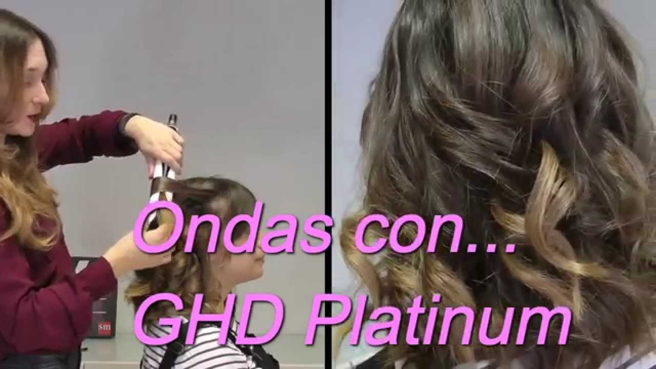 Ondas Con La Nueva Ghd Platinum Youtube