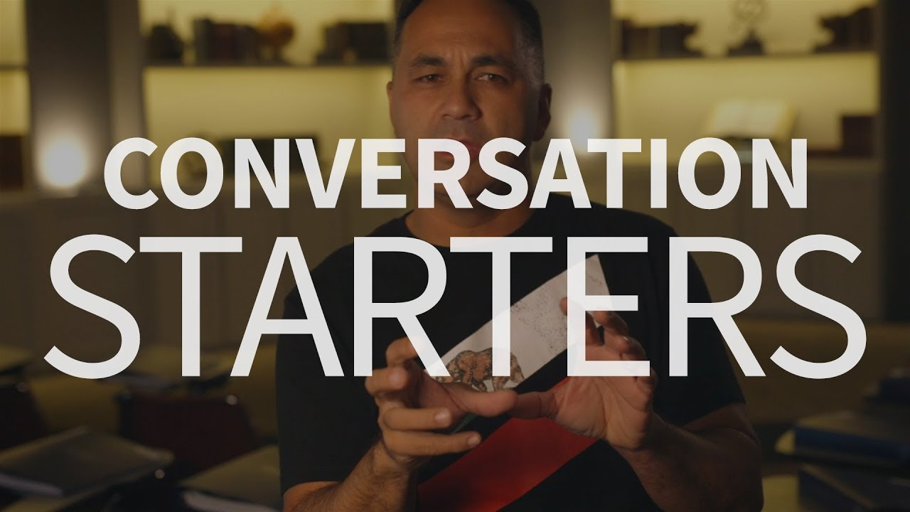 How can Christians start conversations with non-believers?
