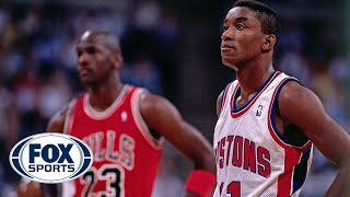 Isiah Thomas explains why Pistons didn't shake hands with Michael Jordan and the Bulls | FOX SPORTS