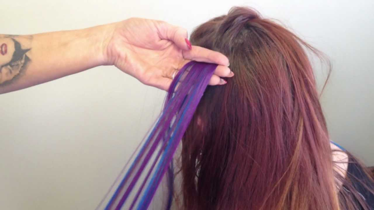 Two Color Tape In Hair Extensions How Tov Youtube