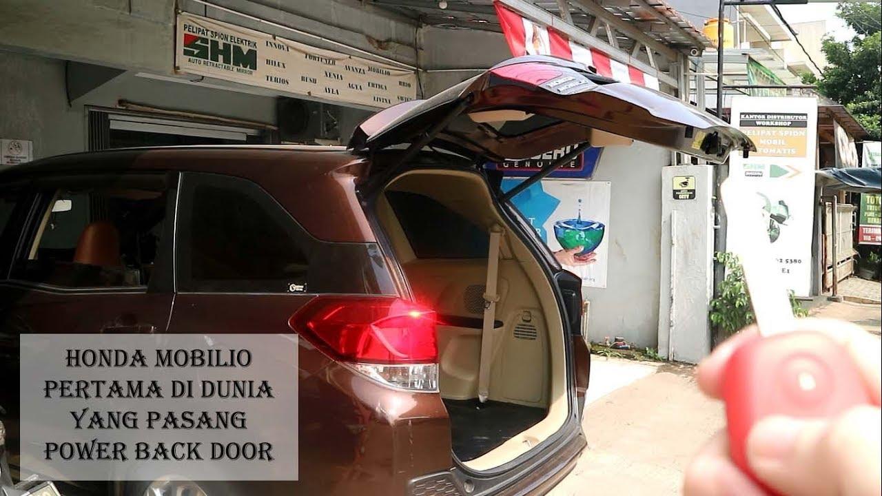 Honda Mobilio Power Back Door Membuka Dan Menutup Pintu Belakang